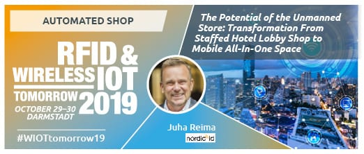 Nordic ID at RFID & Wireless IoT 2019