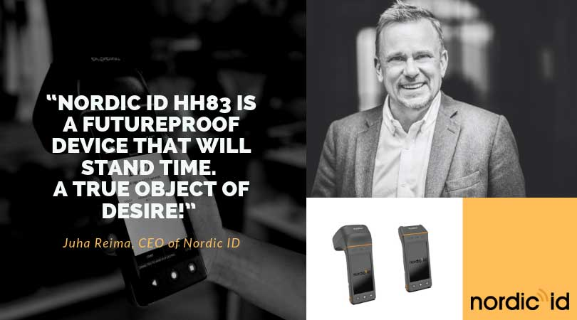 Nordic ID barcode and RFID portable reader launched