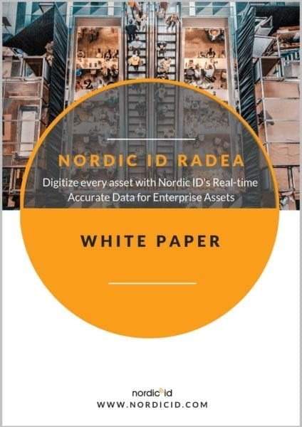 Nordic ID RADEA real time inventory white paper asset tracking