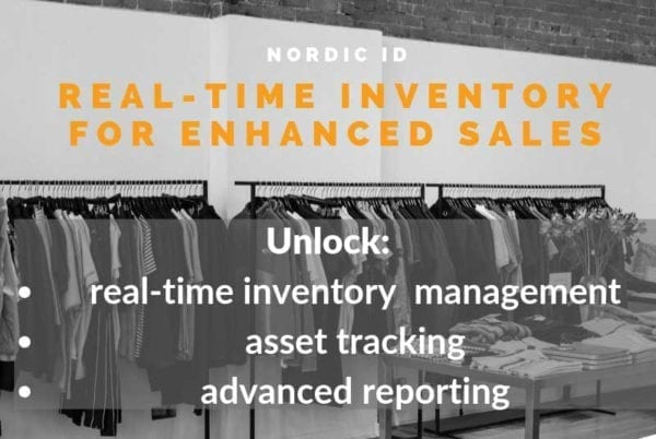 The Right Amount powered by Nordic ID RADEA asset tracking software asset management platform cloud IoT real-time inventory