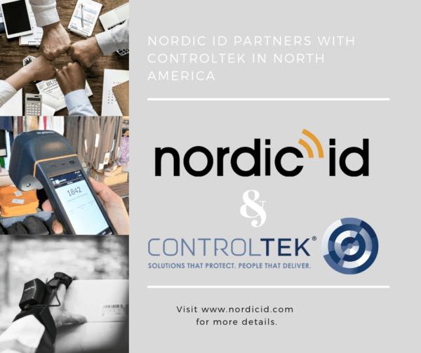 Nordic ID & Controltek RFID partners