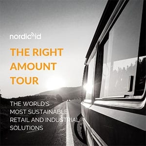The Right Amount Tour roadshow Nordic ID