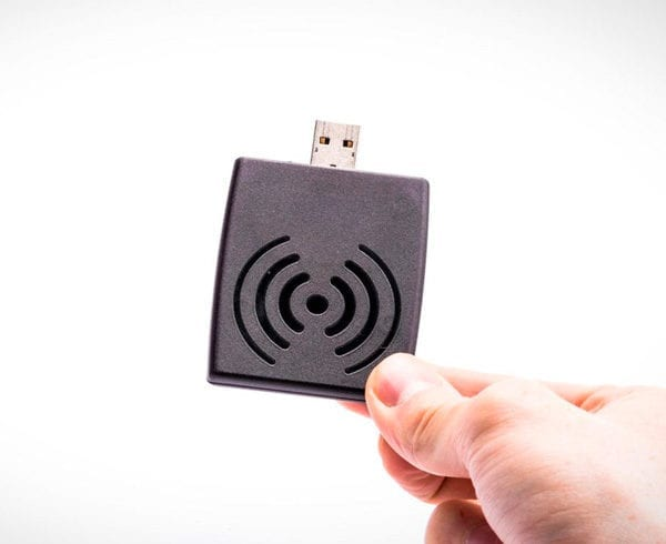 Small UHF RFID Reader: Discover Nordic ID Stix with USB